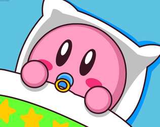 Baby Kirby by Kittykun123