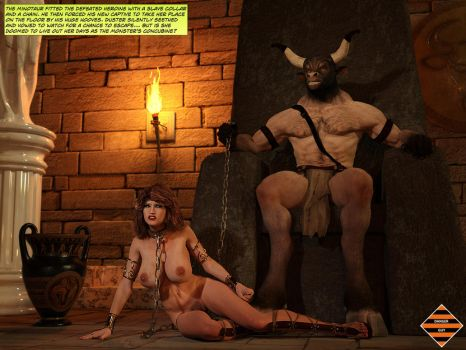 Minotaur 08 - Enslaved by Dangerguy01
