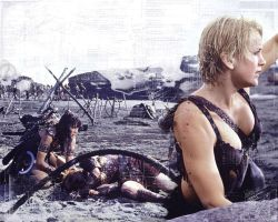 Xena Wallpaper - To Helicon... by buckwolf