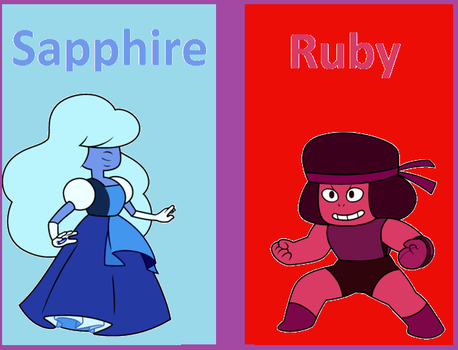 Cartoon Network:sapphire or ruby by Danielfanbro850