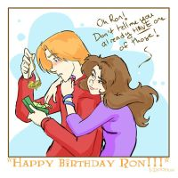 Happy Birthday Ron 08 - HP by lberghol