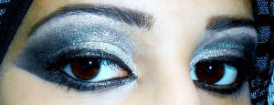 Black and Silver by JoujouBeauty