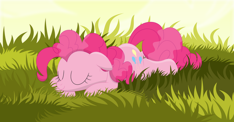 A nice grassy snooze by Porygon2z