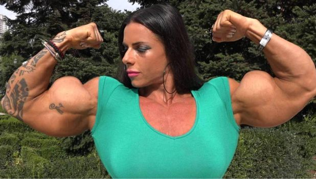 Tereza Pantela Muscle Morph by Turbo99