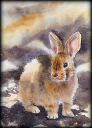 Card12 Bunny by EarlyOctober
