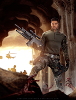 BSAA Heroes - Chris Redfield by FearEffectInferno