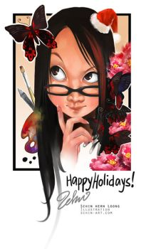 Happy Holidays 08 by luciole