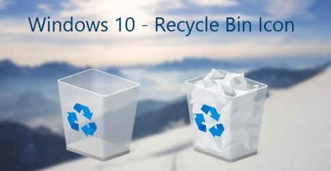 Windows 10 - Recycle Bin Icon - Build 10056 by AtomR