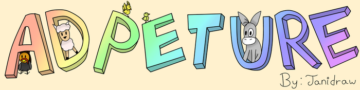 Ad-PET-ure header by Janidraw