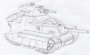 1930s Tank by Imperator-Zor