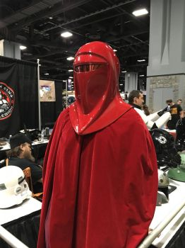 Royal Guard Costume at Awesomecon 2017 501st Booth by rlkitterman