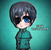 Chibi Young Master by thedarkpriestess
