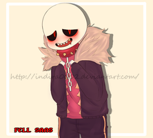Underfell - fell sans by indira0002