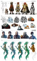 Stars in Shadow: Miscellaneous Character Designs by AriochIV