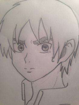 Eren Yeager by Clemontiscute123