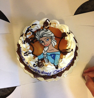 My Elsa Birthday Cake From 2014 by FlyingPrincess