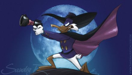 Darker Darkwing by SplatterPhoenix