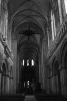 Cathedral of Bayeux - inside by UdoChristmann