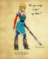 Beyond the Realms: Astrid by Bintavivi