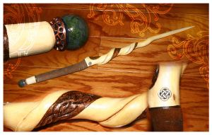 Master Druids Wand, Willow by McGovernArts