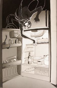 Refrigerator Monster by Evolvyn