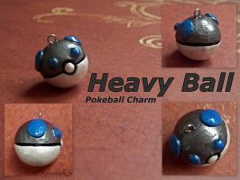 Heavy Ball Charm by GandaKris