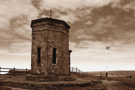 Bude, Cornwall in Sepia by CitizenJustin