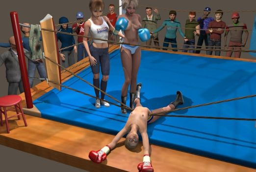 Toon Boxing Contest II: Match 2 by mark393