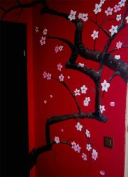 Japanese cherry blossoms by g33kgirl1980