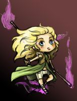 EliseMagrey TheMageling Chibi by thedandmom