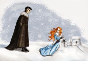 Sansa and Petyr by Sunsethunter13
