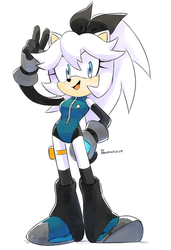 :COMM: Stellar the Hedgehog by Drawloverlala