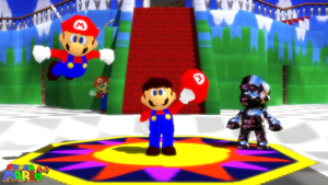 (MMD Model) Super Mario 64 Download by SAB64