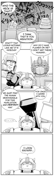 TF 4Koma - At the Movies by kichigai