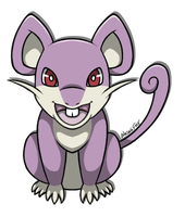 Rattata by WasabiFox