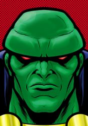 Martian ManHunter by Thuddleston