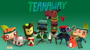 Tearaway Wallpaper by EthanH23
