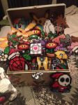My box of Geeky Goodies! by xXXxNightShadexXXx