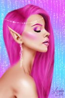 Pink Elf by LunalaDoll