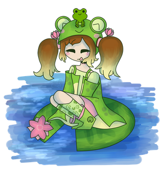 -froggos on lily pads- [closed] by spacemilkii