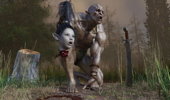 Orc prize by fsmcdesigns