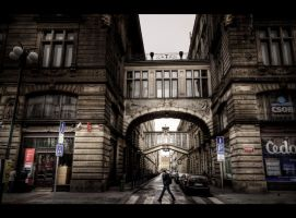 Streets of Prague by Beezqp