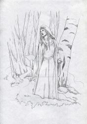 Mirdre of the Silverwood by AeldynnLore