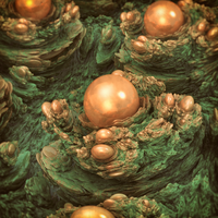 orange spheres - Mandelbulb3D with Parameter by matze2001