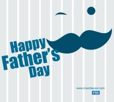 Father's Day PSD by atifarshad