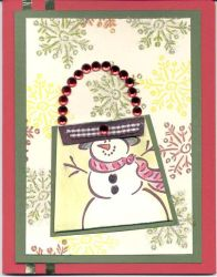Christmas Card Frosty 2 by ladycathryn