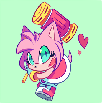Amy Rose by CuteyTCat