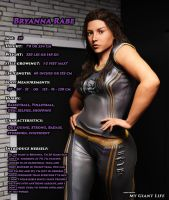 Bryanna - FaTerGD My Giant Life by FaTerKCX