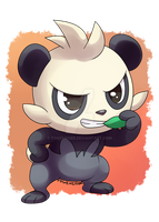 Pokeddexy: Favorite Fighting Type - Pancham by Togekisser