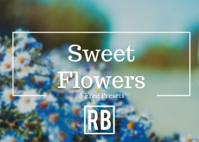 Sweet Flowers - Free Preset Download!! by RetouchingBlog